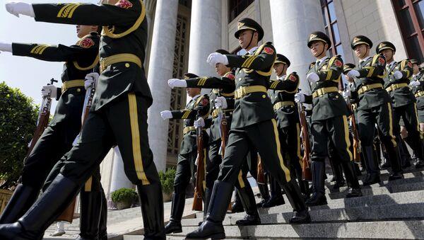 Pekín despliega medios para asegurar el éxito del Desfile de la Victoria - Sputnik Mundo