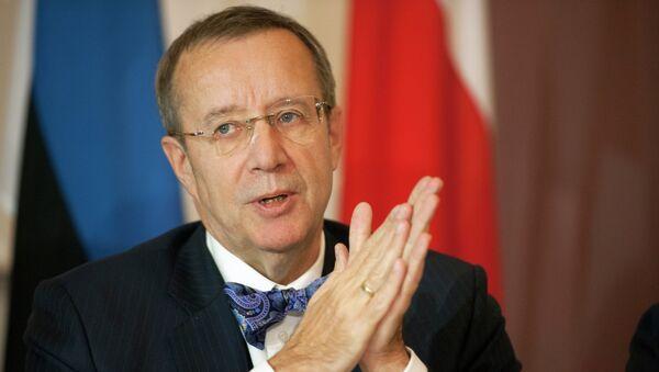 Toomas Hendrik, presidente de Estonia - Sputnik Mundo