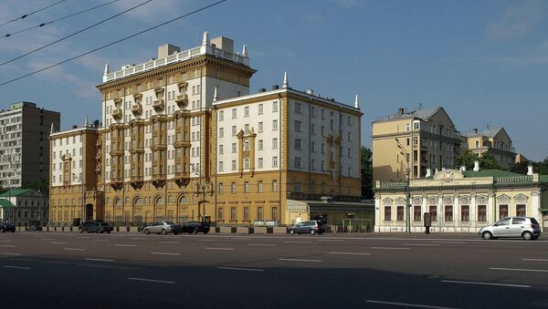 Embajada de EEUU en Moscú - Sputnik Mundo