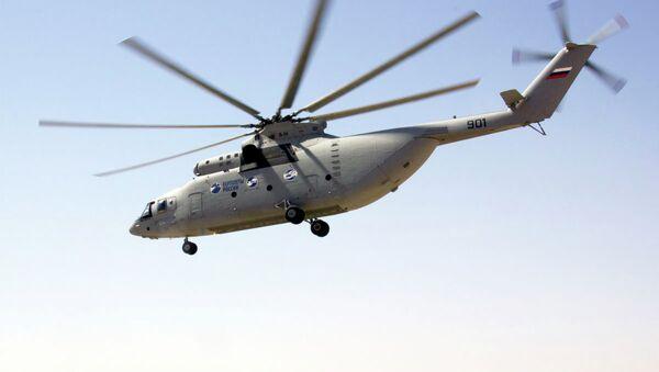 Helicóptero Mi-26T - Sputnik Mundo