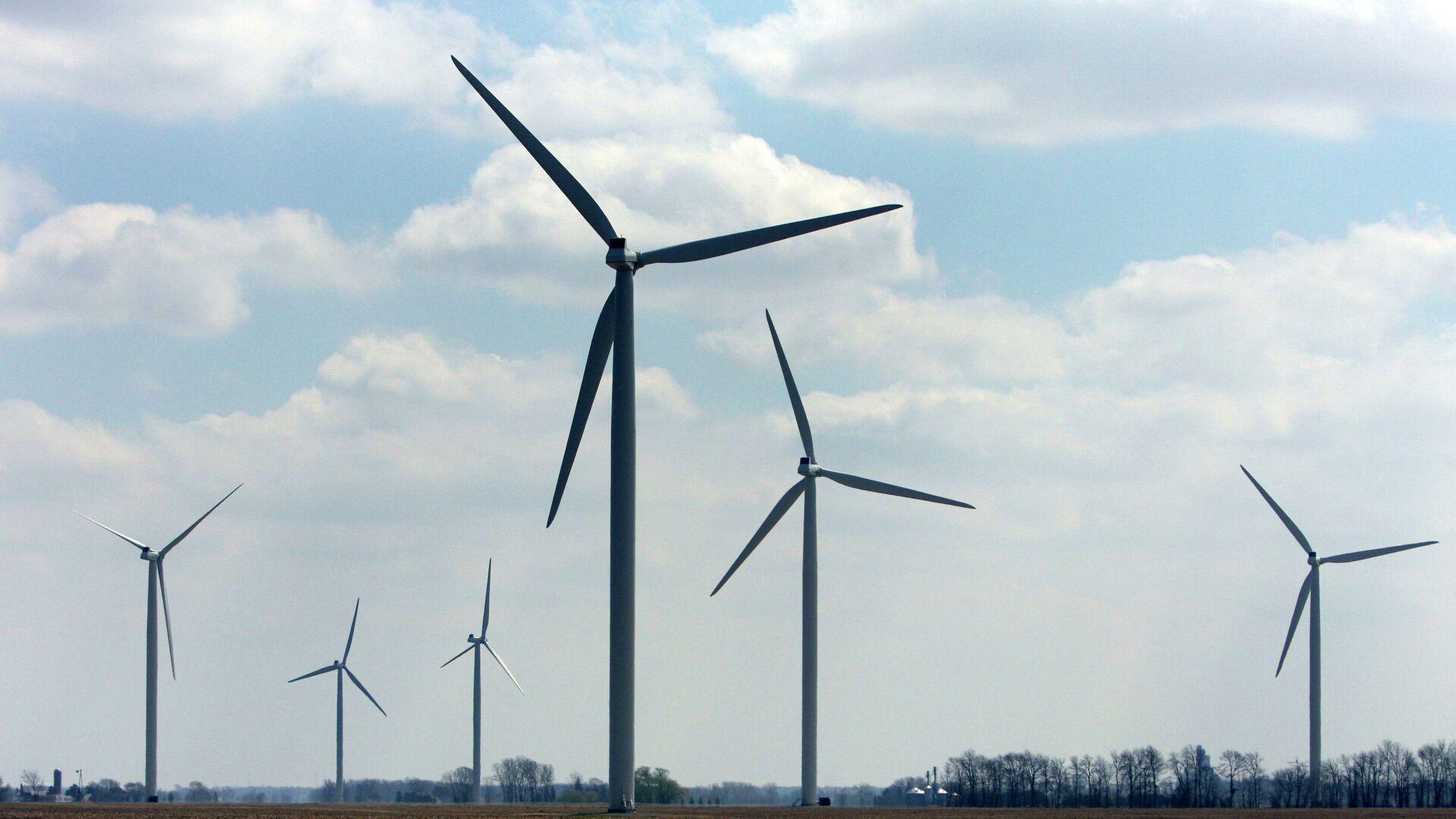 Wind turbines - Sputnik Mundo, 1920, 21.04.2021