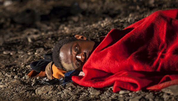 Refugiado africano (Archivo) - Sputnik Mundo