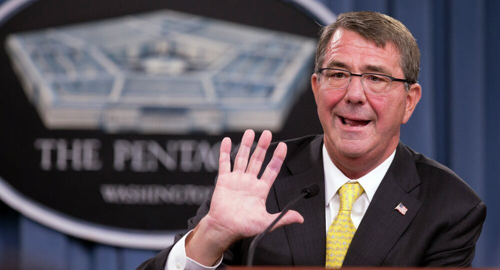 El secretario de Defensa estadounidense, Ash Carter