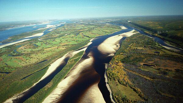 Río Lena, en la región de Yakutia - Sputnik Mundo