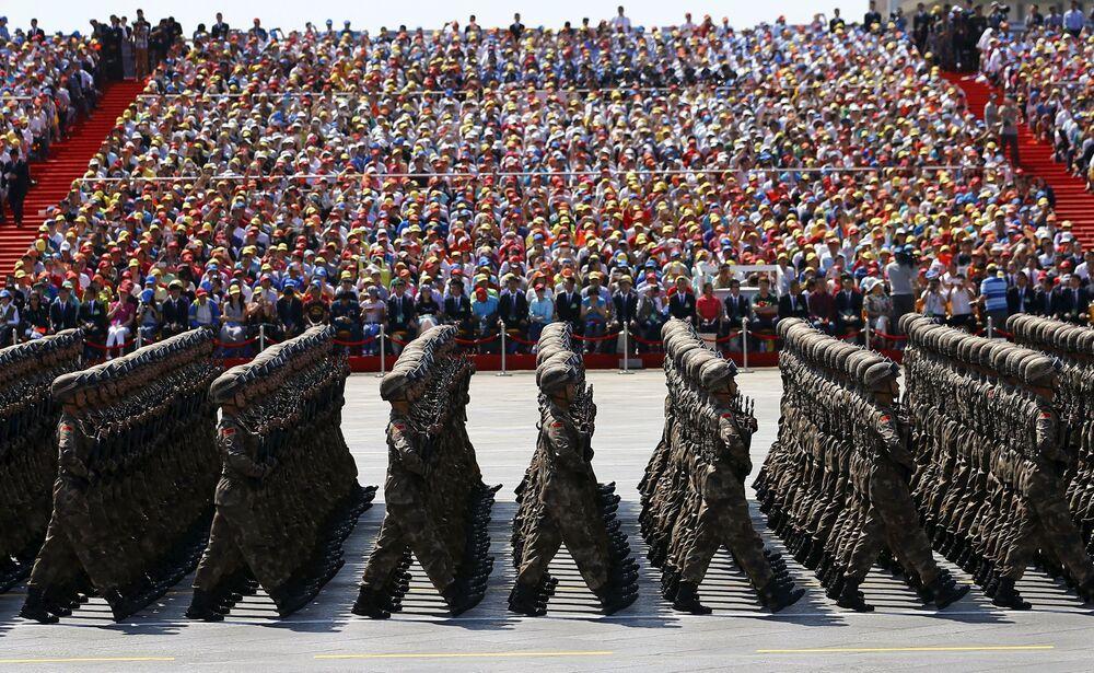 El grandioso desfile militar en Pekin