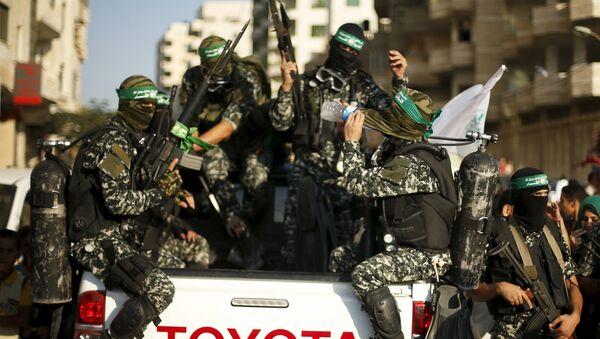 Palestino islamista Hamás en la Franja de Gaza - Sputnik Mundo