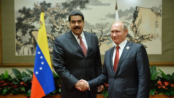 Nicolás Maduro, presidente de Venezuela, y Vladímir Putin, presidente de Rusia (archivo) - Sputnik Mundo