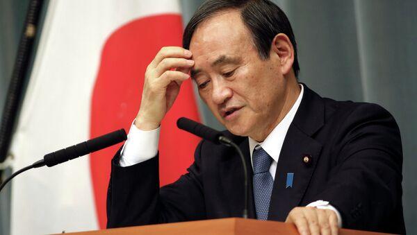Yoshihide Suga, secretario general del Gobierno de Japón - Sputnik Mundo