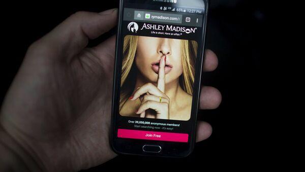 Página web de citas para casados Ashley Madison - Sputnik Mundo
