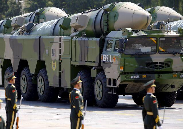Misil balístico antibuque de medio alcance Dong Feng 21D (DF-21D)