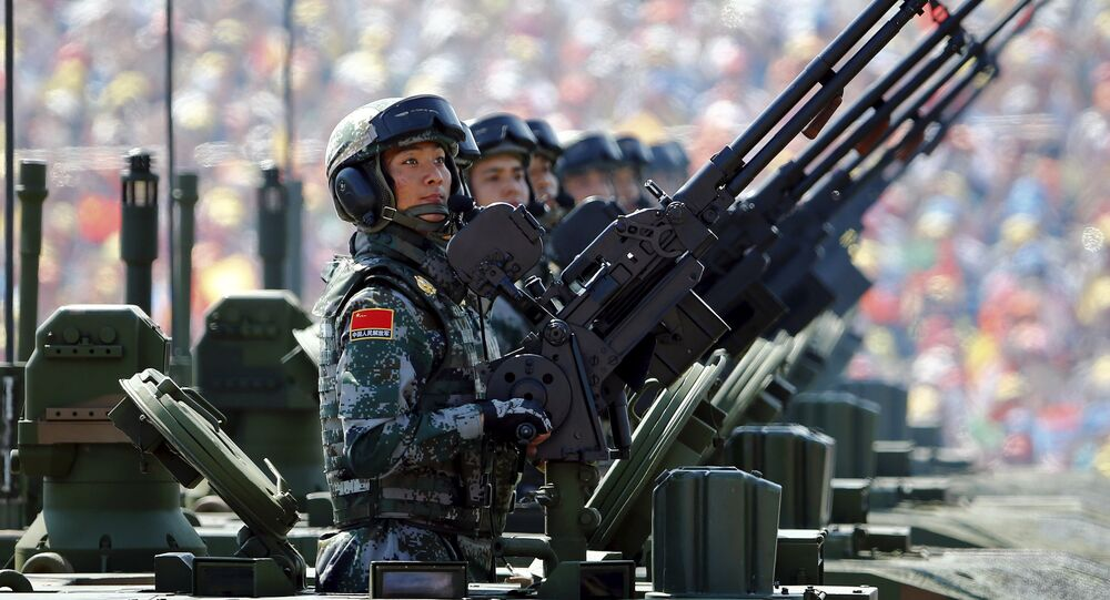 Desfile de la Victoria en Pekín