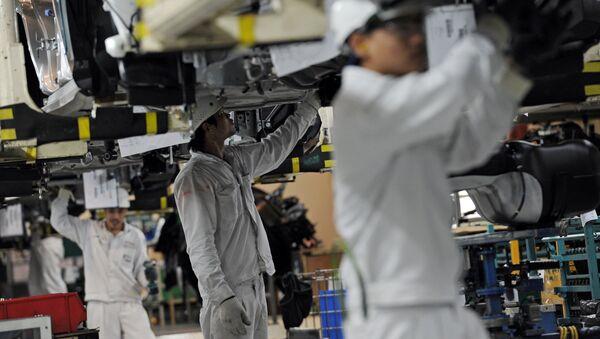 Fabricación de automóviles Honda (archivo) - Sputnik Mundo