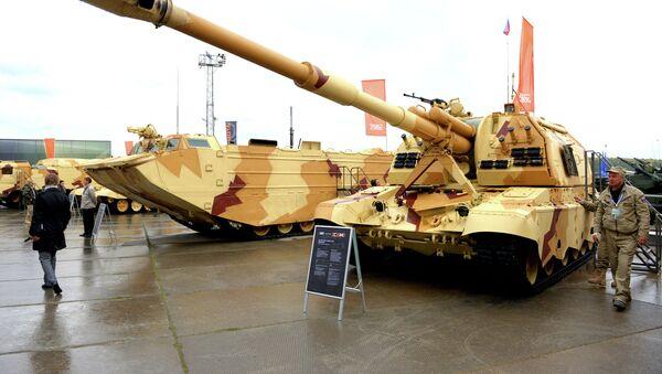 Feria militar internacional Russia Arms Expo 2013 (archivo) - Sputnik Mundo