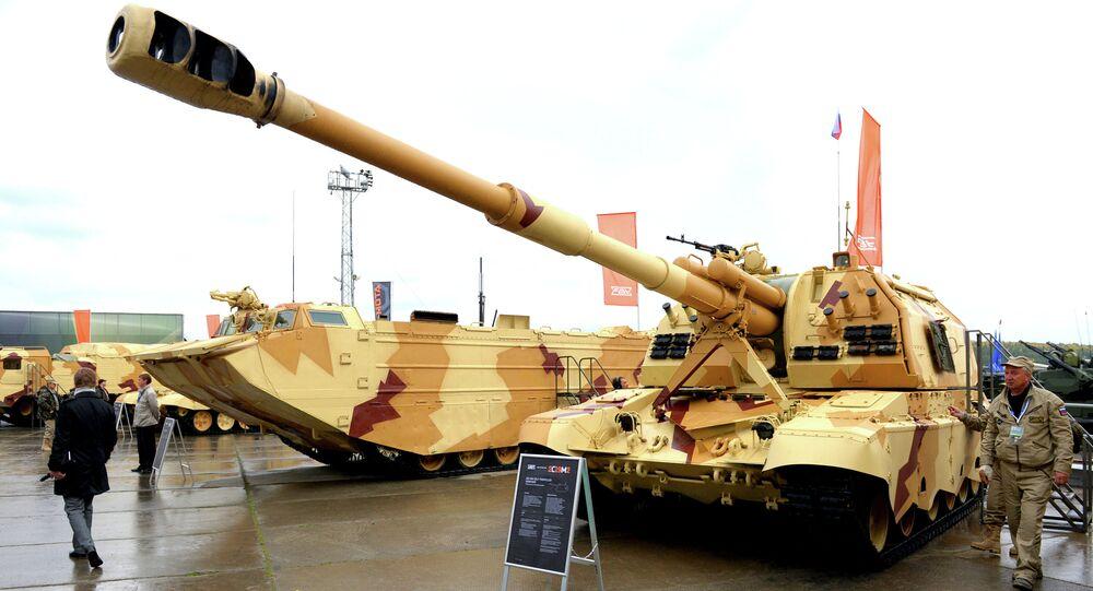 Feria militar internacional Russia Arms Expo 2013 (archivo)