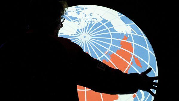Logo de la agencia Rossiya Segodnya - Sputnik Mundo