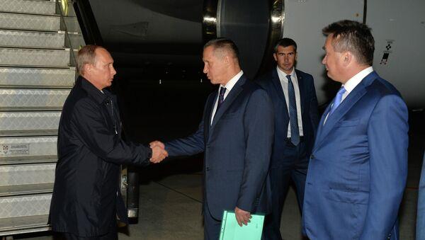 Presidente de Rusia, Vladímir Putin en Vladivostok - Sputnik Mundo