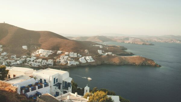 Isla de Astipalea en Grecia - Sputnik Mundo