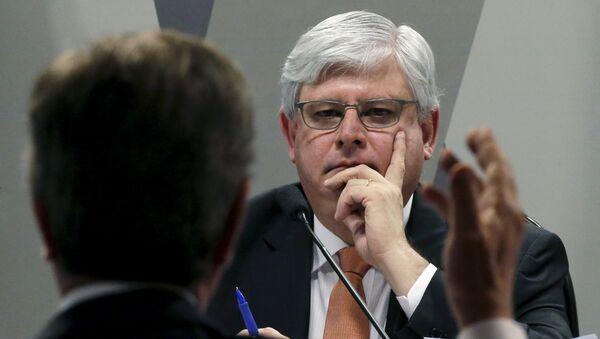 El Fiscal General de la República de Brasil, Rodrigo Janot - Sputnik Mundo