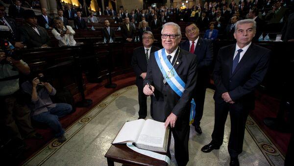 El nuevo presidente de Guatemala, Alejandro Maldonado - Sputnik Mundo