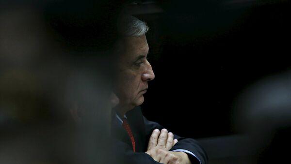 El ex presidente de Guatemala, Otto Pérez Molina - Sputnik Mundo