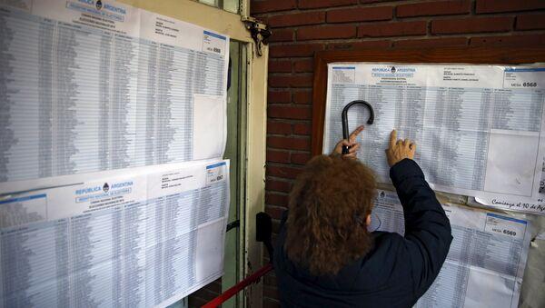 Argentina descarta cambios en su sistema de votación - Sputnik Mundo
