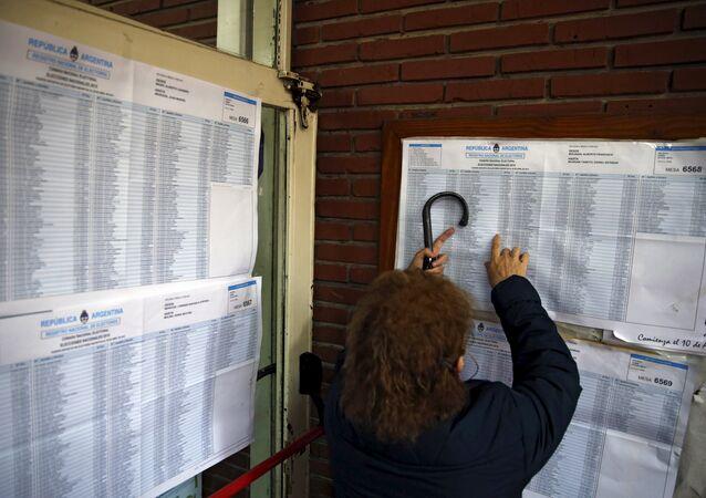 Argentina descarta cambios en su sistema de votación