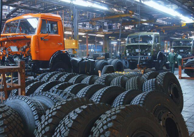 Planta de fabricación de camiones Kamaz