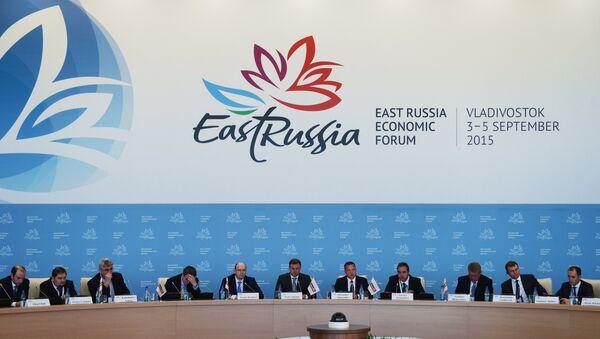 Foro Económico Oriental en Vladivostok - Sputnik Mundo
