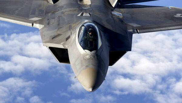 F-22 Raptor, caza estadounidense - Sputnik Mundo