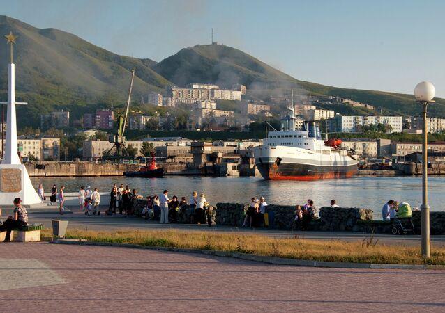 La isla de Sajalín, Rusia (archivo)