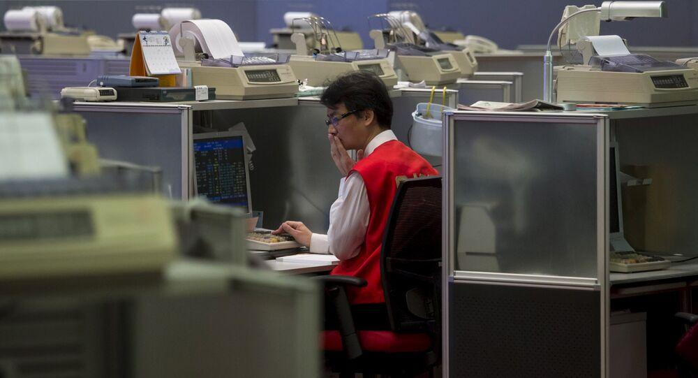 Bolsa de Hong-Kong, China