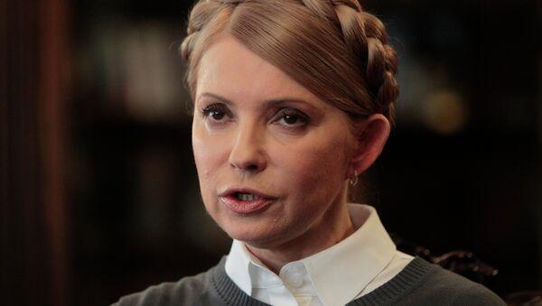 Yulia Timoshenko, líder del partido parlamentario Batkivschina - Sputnik Mundo