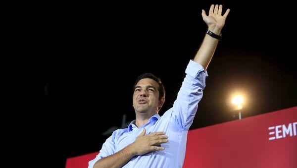 Alexis Tsipras, candidato de Syriza al Gobierno de Grecia - Sputnik Mundo