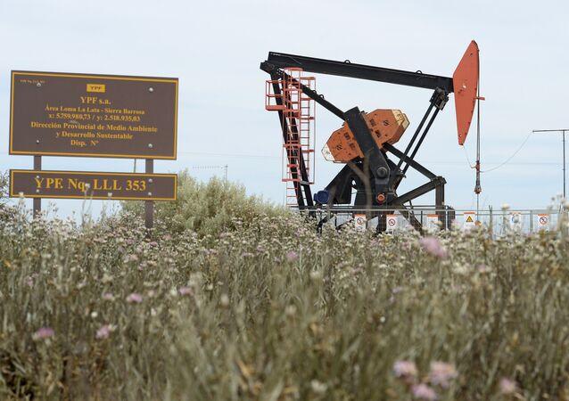 Extracción de petróleo en Argentina