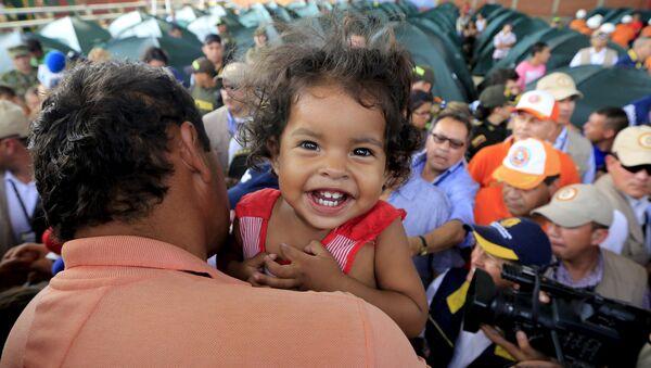 Colombianos deportados a su país desde Venezuela - Sputnik Mundo