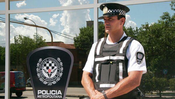 Policía Metropolitana de la Ciudad de Buenos Aires - Sputnik Mundo