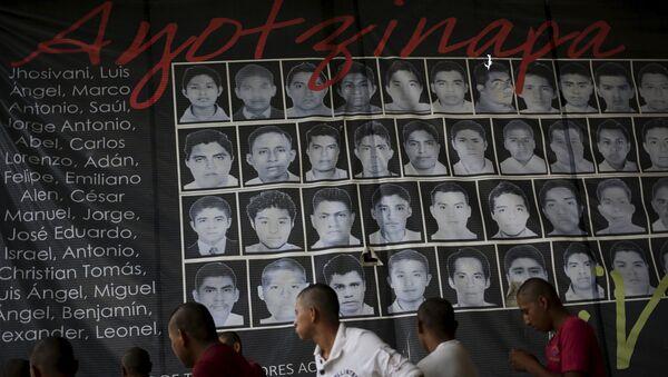 Retratos de los 43 estudiantes desaparecidos en Ayotzinapa - Sputnik Mundo