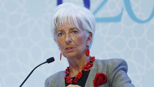 Christine Lagarde, directora del Fondo Monetario Internacional (FMI) - Sputnik Mundo