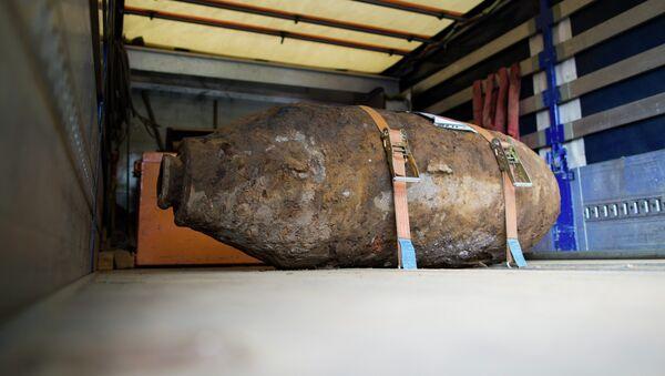 Bomba de la IIGM en Alemania (Archivo) - Sputnik Mundo