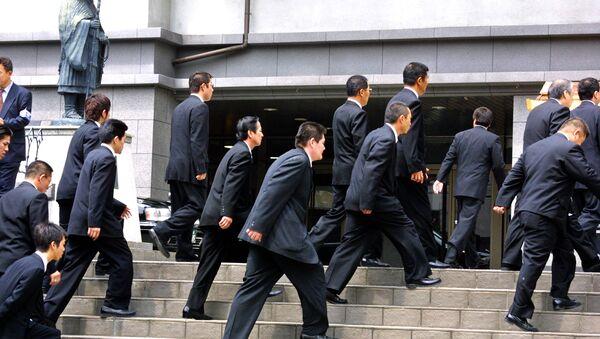 Miembros del grupo yakuza Yamaguchi-gumi (Archivo) - Sputnik Mundo