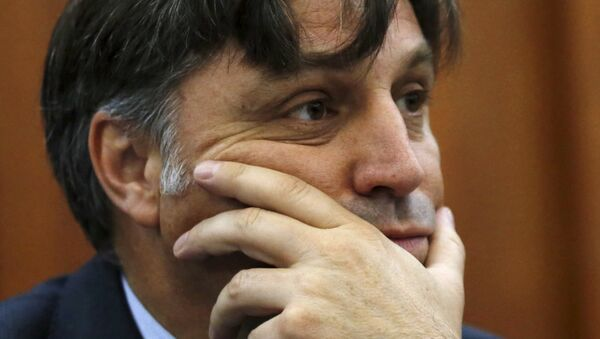Francisco Cox, miembro del grupo de expertos independientes designado por la CIDH - Sputnik Mundo