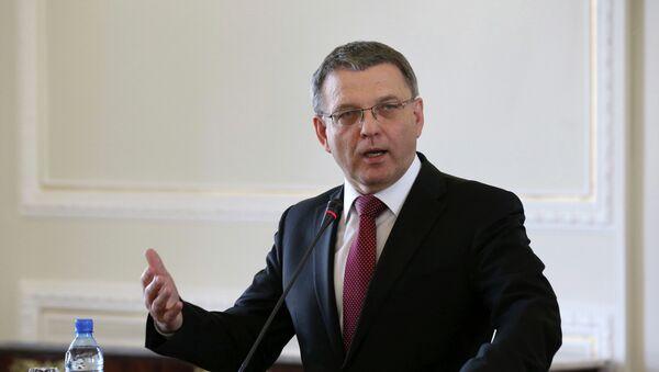 El canciller checo, Lubomír Zaorálek - Sputnik Mundo
