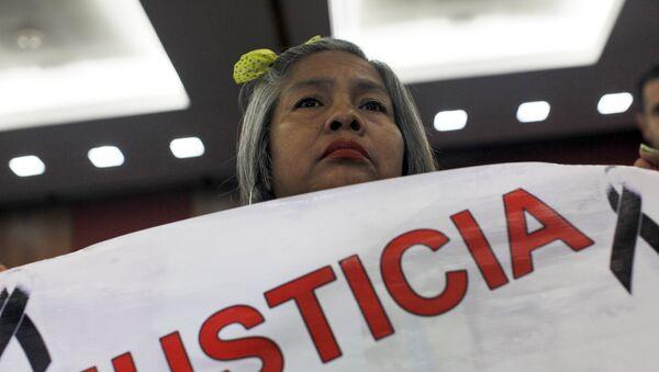 Berta Nava, la madre de uno de los estudiantes desaparecidos en Ayotzinapa - Sputnik Mundo