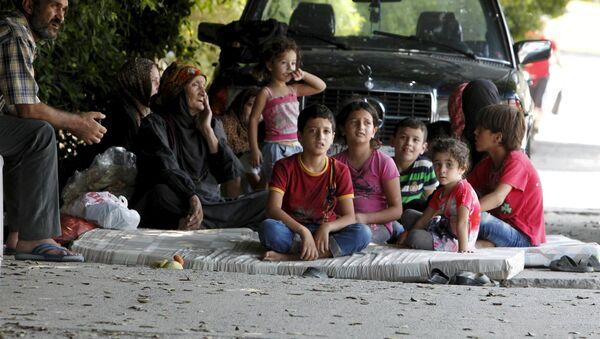 Refugiados palestinos en Líbano - Sputnik Mundo