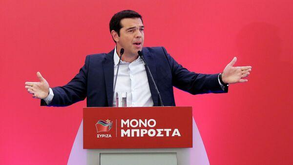 Alexis Tsipras, exprimer ministro de Grecia - Sputnik Mundo