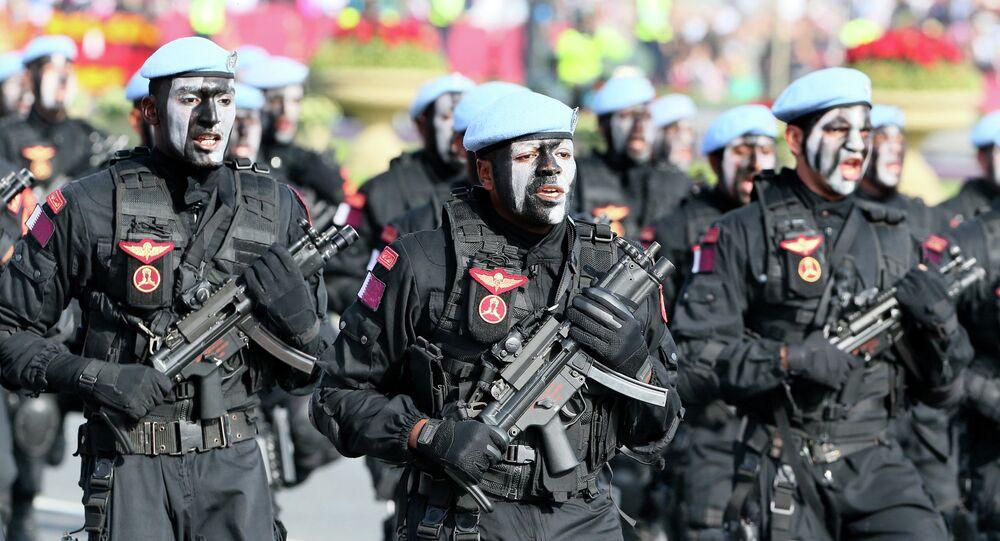 Soldados cataríes