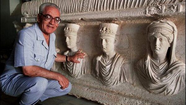 Jalid Asad, arqueólogo decapitado por los yihadistas del EI (archivo) - Sputnik Mundo