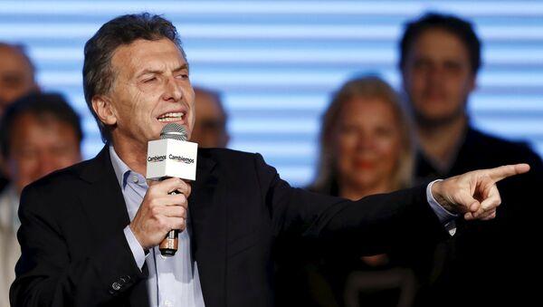 Mauricio Macri - Sputnik Mundo