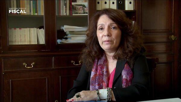 La fiscal Cristina Caamaño - Sputnik Mundo