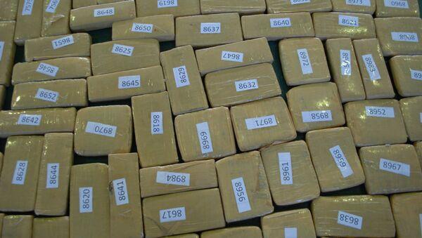 Marihuana en cajas (archivo) - Sputnik Mundo